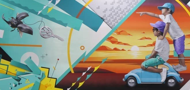 フォルクスワーゲン「The Beetle」のアート展「The Beetle Graffiti」開催