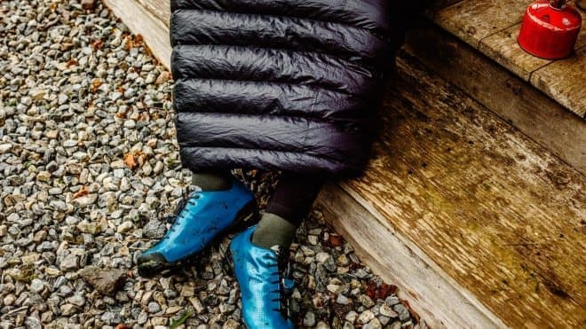 サイクリスト専用寝袋、Rapha「EXPLORE DOWN SLEEPING BAG」
