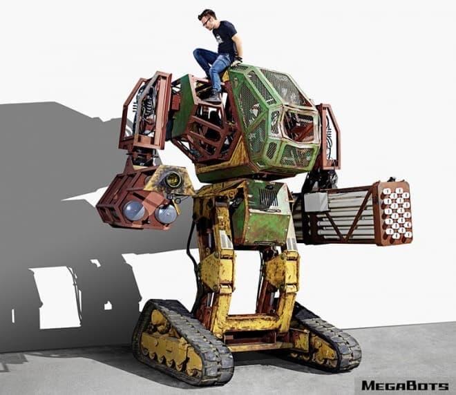 「クラタス」と戦った米国MegaBotsのロボットが、オープンソースに