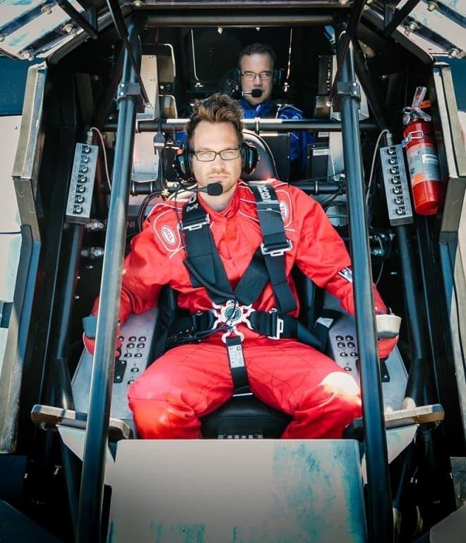 「Eagle Prime」に搭乗できる体験ツアー