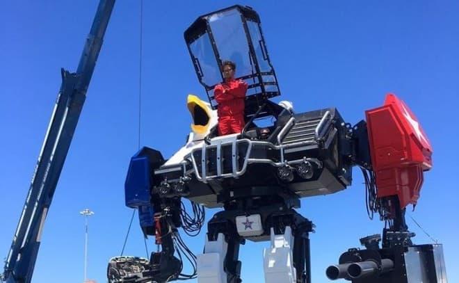 クラタスと戦ったMegaBotに搭乗できるツアー開催