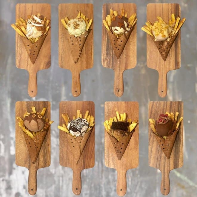 GIAPOの「HOT CHIPS ICE CREAM」