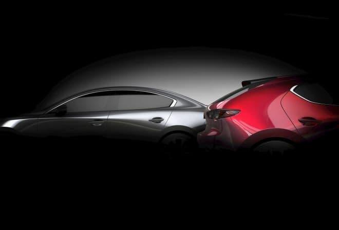 マツダ新型「Mazda3」、ロサンゼルス自動車ショーで世界初公開