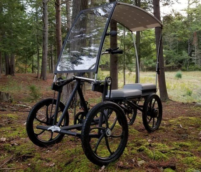 電動アシスト自動車(?) 乗り物に新カテゴリーを創出するかもしれないSCREECHERの「Pedalcycle」