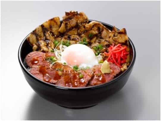 「とんぎゅう丼」(1,280円)