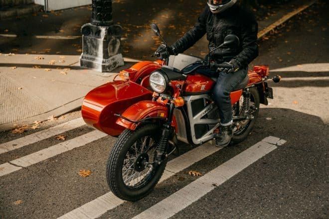 Uralが電動バイクのプロトタイプを発表