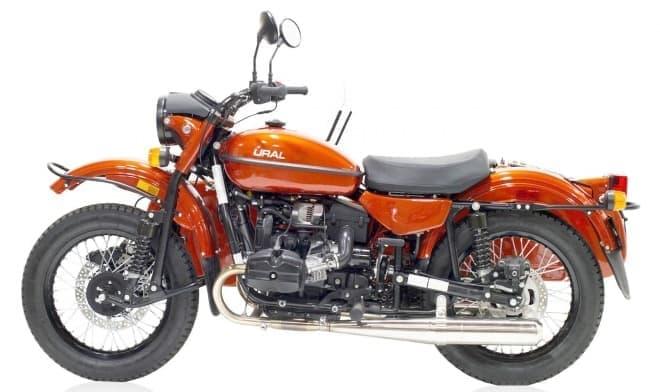 UralガソリンバイクCT