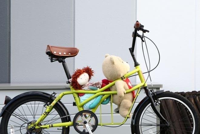 股下に荷物を積む自転車「ROADYACHT」シリーズ