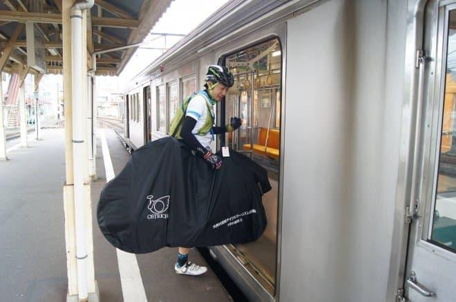 ― 自転車で旅をして、鉄道で帰る