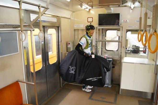 大井川鐵道で、輪行バック無料貸出サービス開始