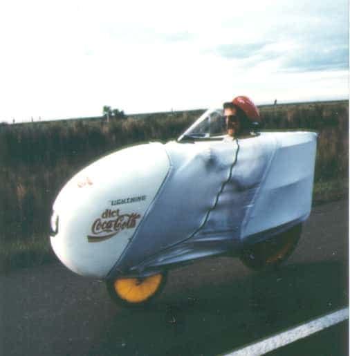 2輪のベロモービル「Lightning F-40」