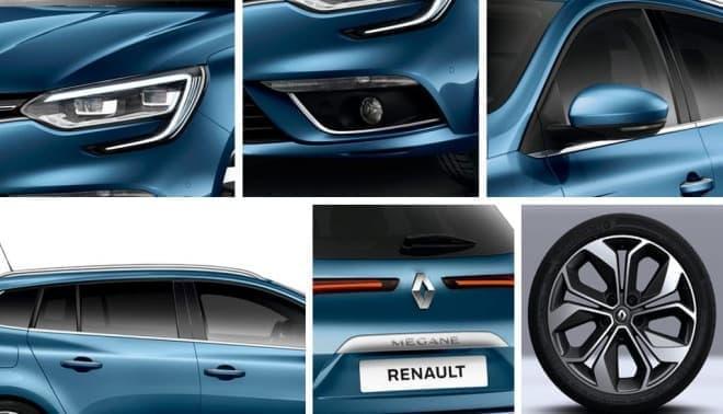 ルノー「メガーヌ スポーツ・ツアラー」日本発売1周年を記念した限定車「アニヴェルセル」