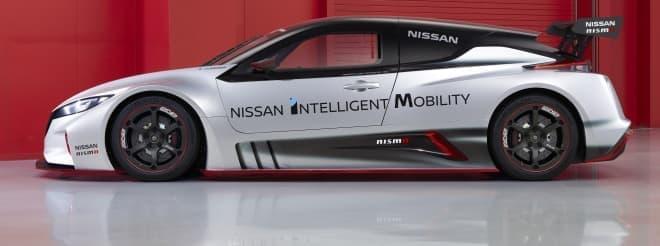 日産、新型「NISSAN LEAF NISMO RC」公開