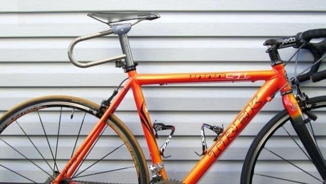 サドルも自転車も盗ませない自転車用ロックEverlock