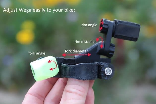 ブレーキを、自転車用ライトに ― 充電のいらない「Magnic Microlights」に、ディスクブレーキ採用車向け「Wega」