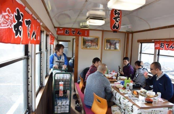 大井川鐵道で「SL おでん列車」、2019年1月12日スタート
