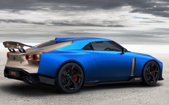 ゴールドアクセントのGT-R、市販モデルの受注開始!-「Nissan GT-R50 by Italdesign」の価格は1億2,300万円から