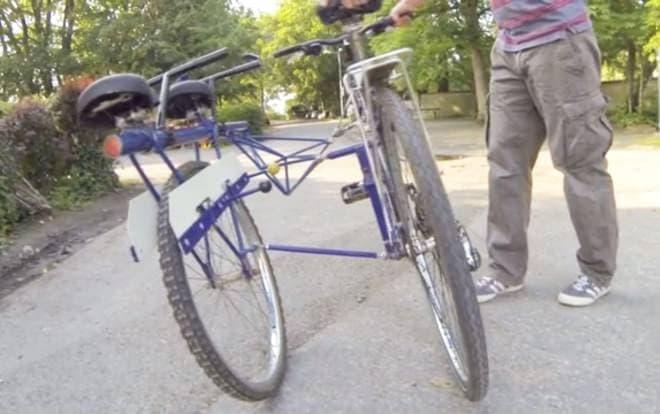 自転車をサイドカー付きにする「SideBike」