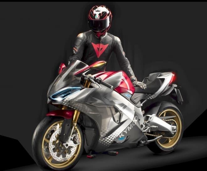 電動バイクなのに、サウンドとシフトチェンジを楽しめるスーパースポーツ-キムコ「SuperNEX」