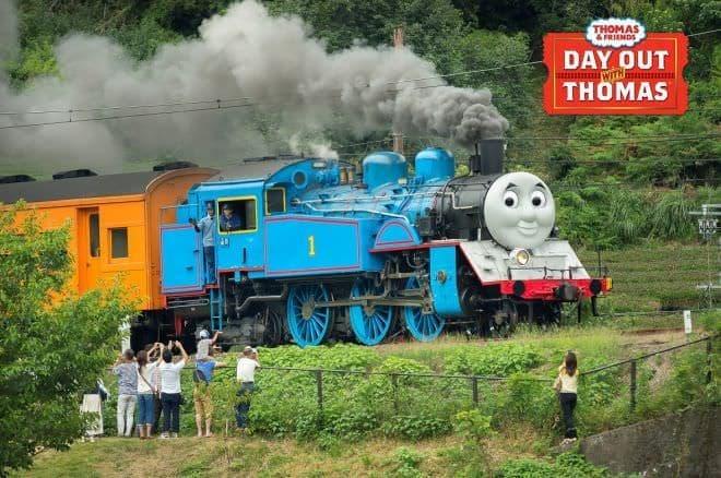 蒸気機関車の「きかんしゃトーマス号」、2019年も運行します!