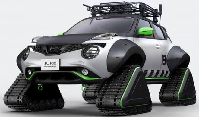 日産、「JUKE Personalization Adventure Concept」