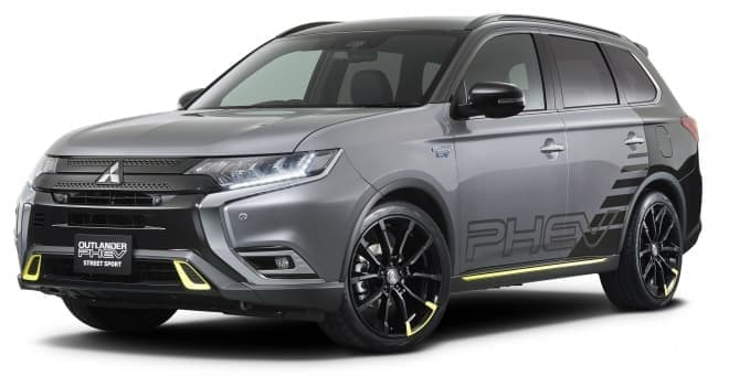 三菱「デリカD:5」純正用品提案車、東京オートサロン2019に登場