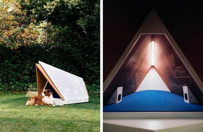 ノイズキャンセリング機能の付いた犬小屋、フォードが開発―新年を祝う花火に備えて