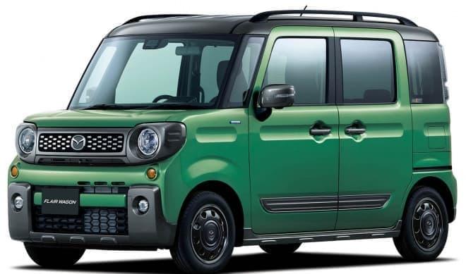 SUVデザインのフレアワゴン、マツダの新型「タフスタイル」