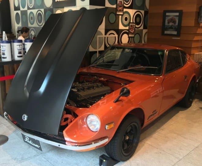 トヨタ「2000GT」、代官山Podiumに展示中