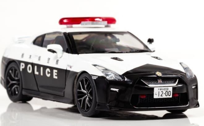 日産 GT-Rのパトカー、1/43スケールモデルで登場