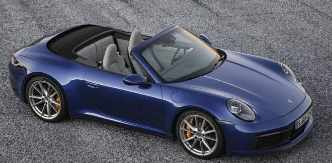 ポルシェ、新型911カブリオレ発表