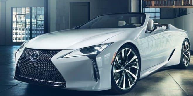 LEXUS、コンバーチブルクーペのコンセプトカー「LC Convertible concept」を世界初公開