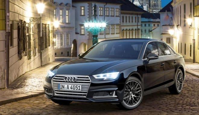 Audi A4シリーズに、特別限定車「ブラックエレガンス」