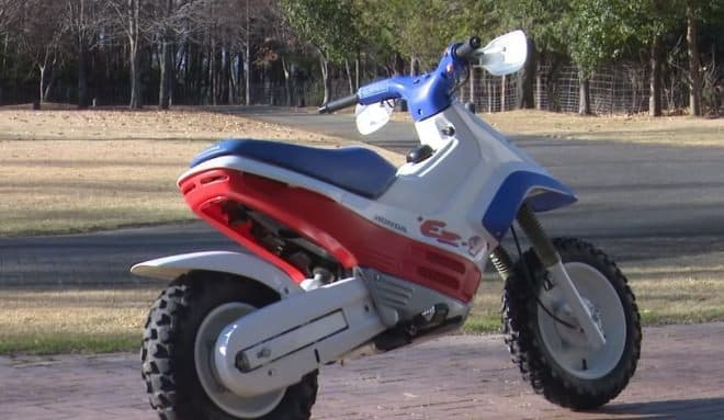 ホンダが、オフロードバイク「HONDA EZ-9」の最新走行映像を公開