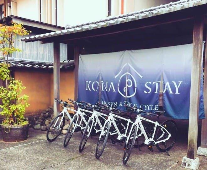 自転車と一緒に泊まれる部屋も ― サイクリスト向け宿泊施設「コナステイ伊豆長岡」