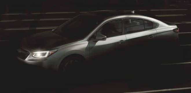 新型 SUBARU「レガシィ」セダン、シカゴオートショーで世界初公開
