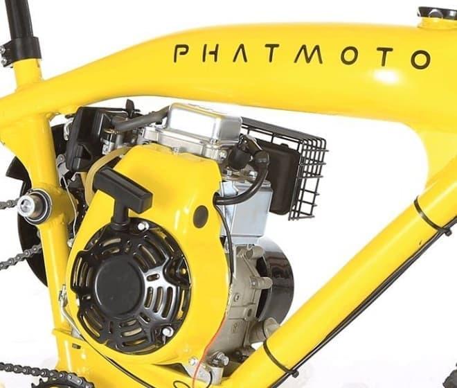 なぜか欲しくなるデザインを持つモペッド「Phatmoto」