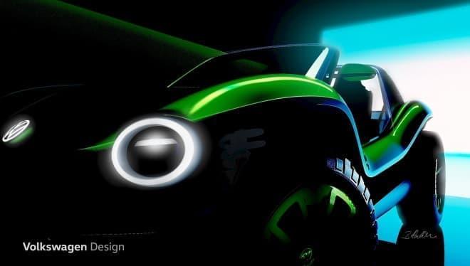 フォルクスワーゲン、電動デューンバギーのコンセプトカーを公開