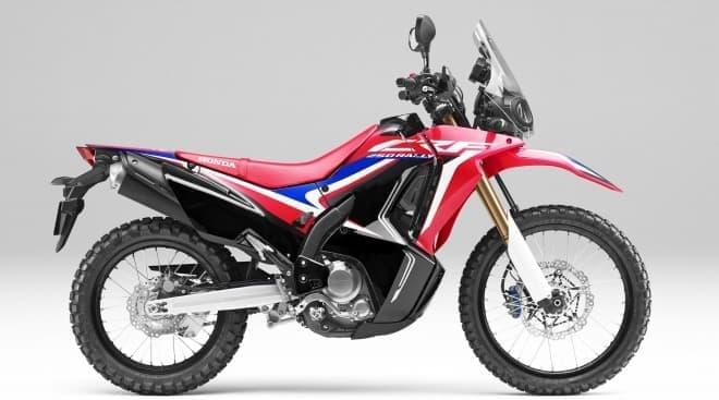 ホンダ「CRF250 RALLY」「CRF250L」のカラーリングを変更し発売