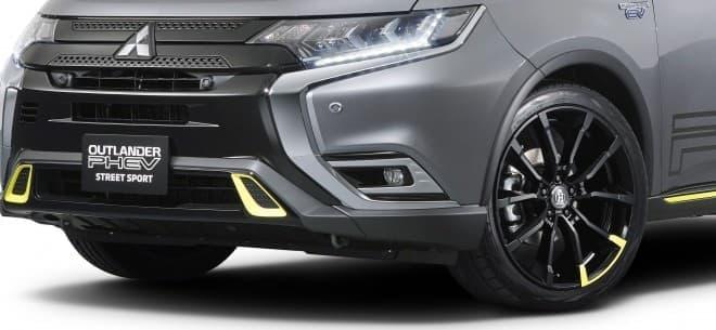 三菱「デリカD:5」純正用品提案車、大阪オートメッセに登場