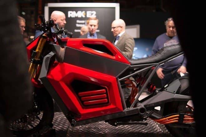 ハブレスホイールの電動バイク RMK Vehicles「E2」、ついにプロトタイプを公開