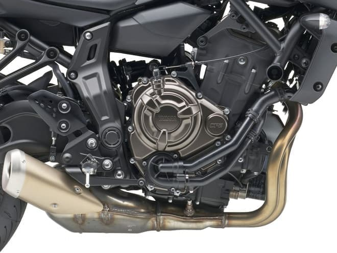 ヤマハのスポーツバイク「MT-07 ABS」に2019年カラー