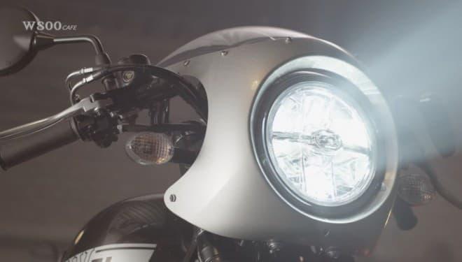 カワサキ「W800 STREET」「W800 CAFE」発売 - 「ビッグバイクらしさ」を純粋培養