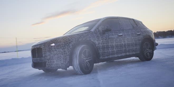 BMWの新型EV「iNEXT」、北極圏でのテスト画像を公開