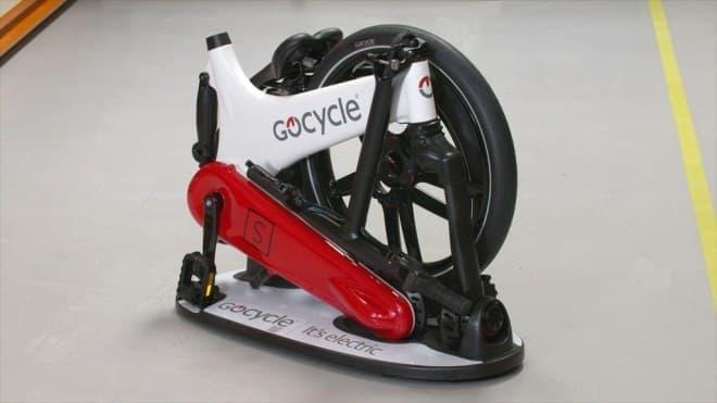 10秒で折り畳める電動アシスト自転車「Gocycle GX」