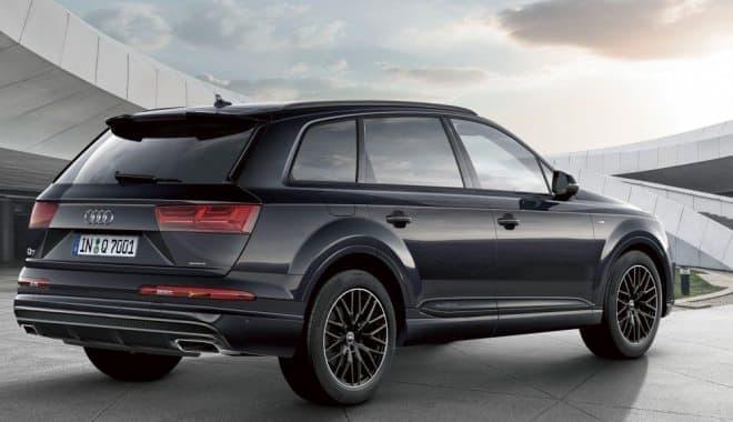 AudiのプレミアムSUV「Q7」に限定モデル「black styling」