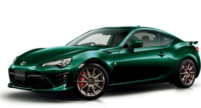 """トヨタ86にグリーンの特別仕様車、「GT""""British Green Limited""""」"""