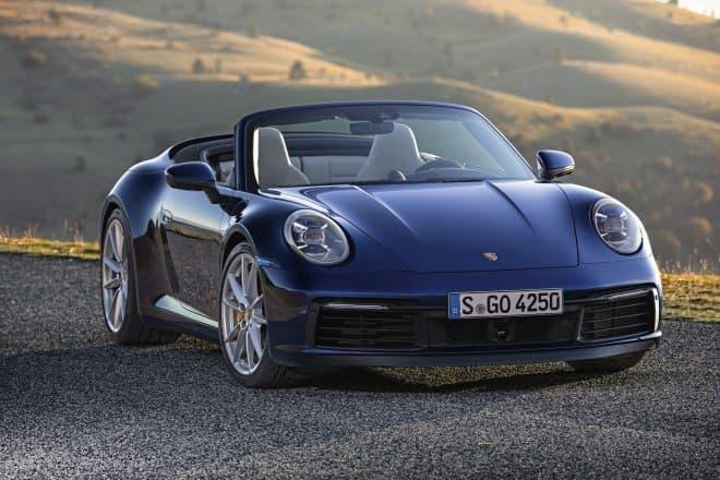 ポルシェ、新型911カレラSカブリオレ、新型911カレラ4Sカブリオレの予約受注を開始
