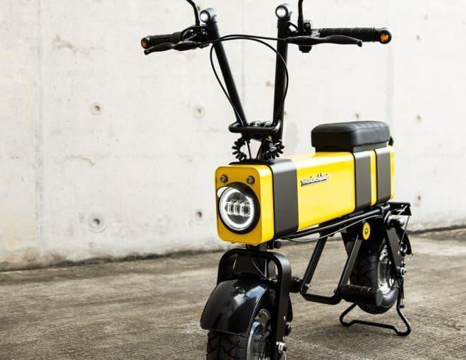 電動バイク「Motochimp(モトチンプ)」に、最新版「Motochimp V2」 ― 新色「バンブルビー」追加