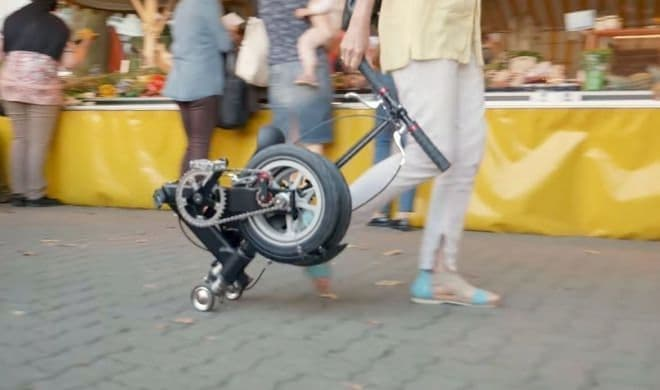 飛行機に手荷物として持ち込める自転車「KWIGGLE」
